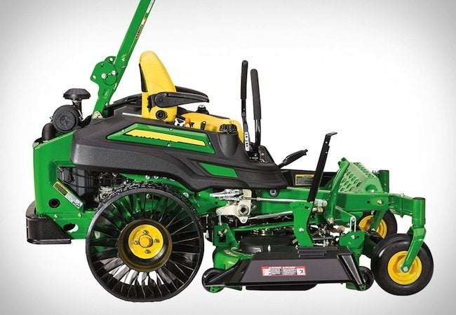 better homes and gardens john deere sweepstakes michelin quite literally reinvents the lawn mower wheel 3974