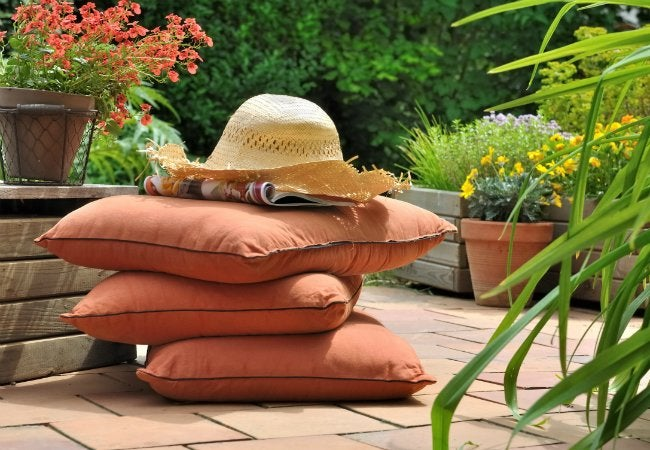 How To Clean Patio Cushions In 6 Steps Bob Vila