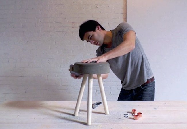 How to Make a Concrete Stool