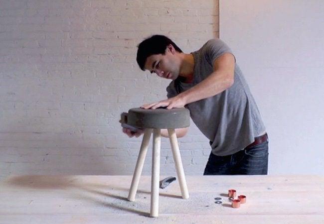 DIY Concrete Stool - Complete & How to Make a Concrete Stool - Bob Vila islam-shia.org