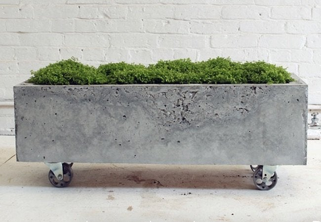 How to Make a Concrete Planter - Complete
