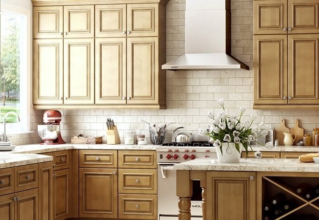 Quick Ship Embled Cabinets From Home Depot