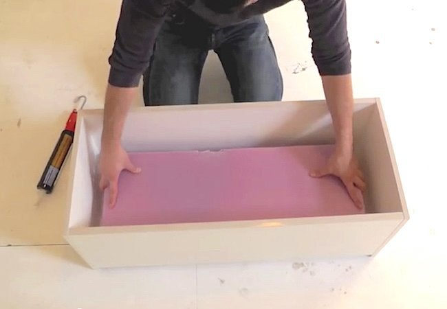 How to Make a Concrete Planter - Step 1