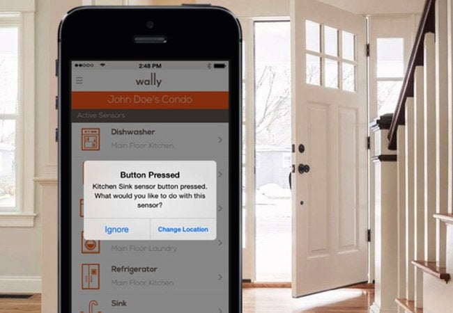 WallyHome Leak Detection System