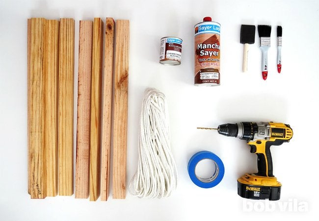 DIY Doormat - Tools and Materials
