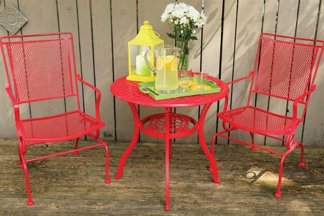 How to remove paint from metal bob vila Spray painting metal patio furniture