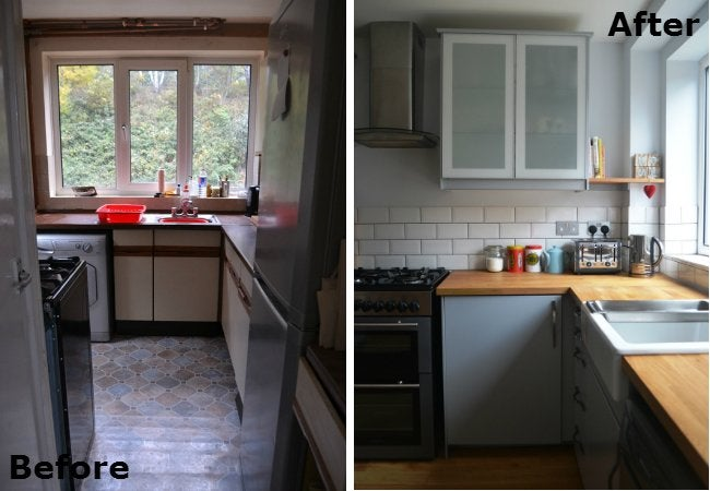 70s kitchen makeover 2147