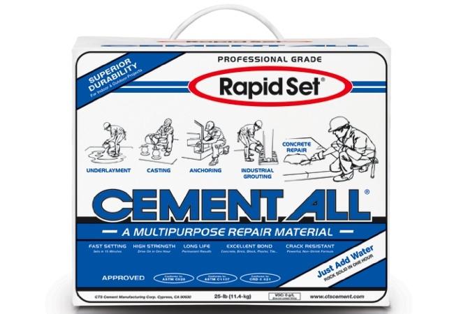 Concrete Repair - CTS Rapid Set Cement All