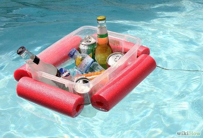 Pool Noodle Crafts - Drinks Float