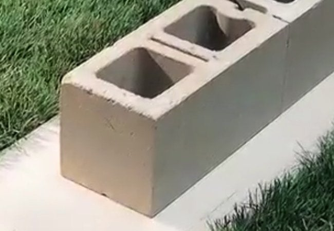How To Build A Cinder Block Wall Bob Vila - Cinder block wall