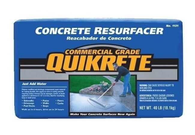How to Resurface a Concrete Driveway - Mix Bag