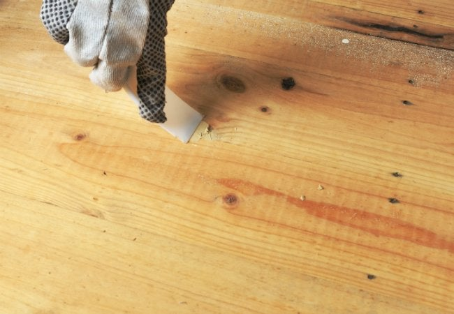 Uses for Sawdust - Wood Filler
