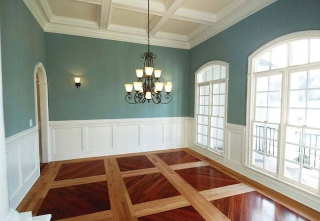 Heating a Room with High Ceilings - Warmboard Parquet Wood Floor