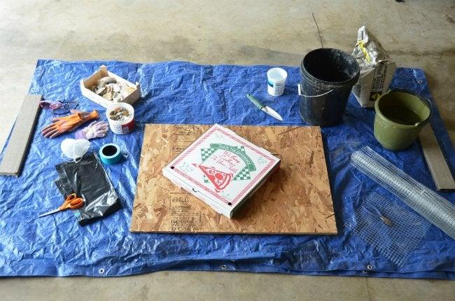 DIY Stepping Stones - Materials
