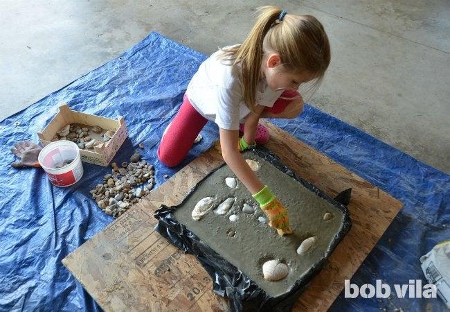 DIY Stepping Stone - Step 5