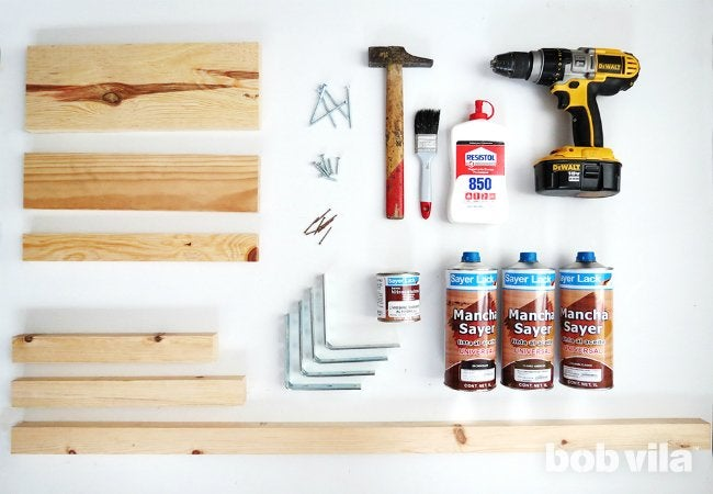 DIY Outdoor Bench - Tools and Materials