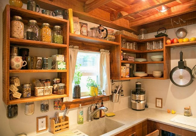 Tiny Home Living - Small Kitchen