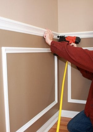 How to Install Chair Rail - Nailing