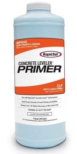 Leveling a Concrete Floor - Rapid Set Primer