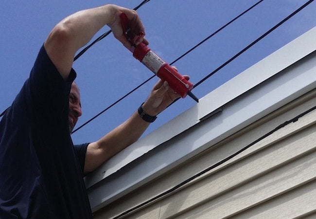 Drip Edge Repair