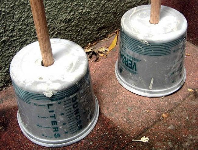 DIY Sunshade - Concrete Base