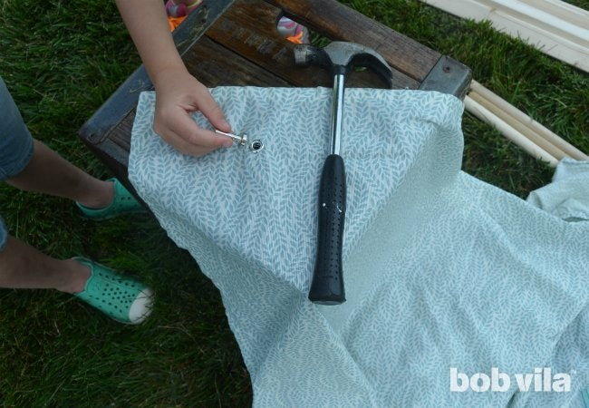 DIY Tent - Grommets