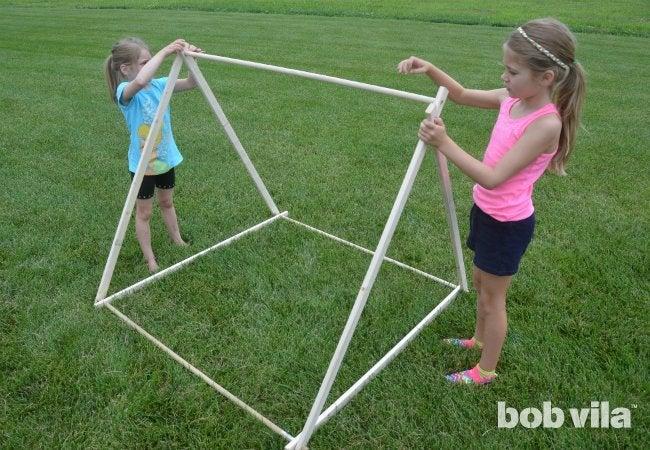 DIY Tent - A Frame Tent