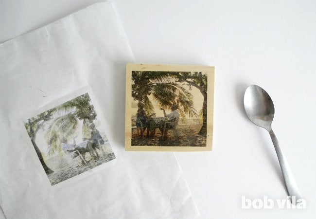 DIY Photo Coasters - Step 6