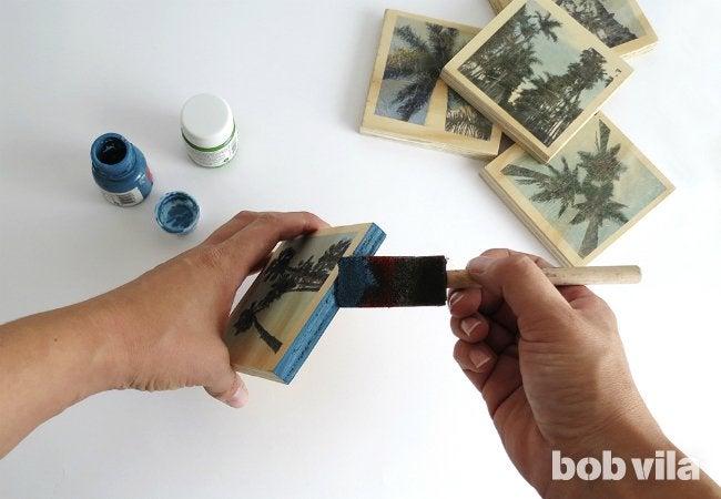 DIY Photo Coasters - Step 7
