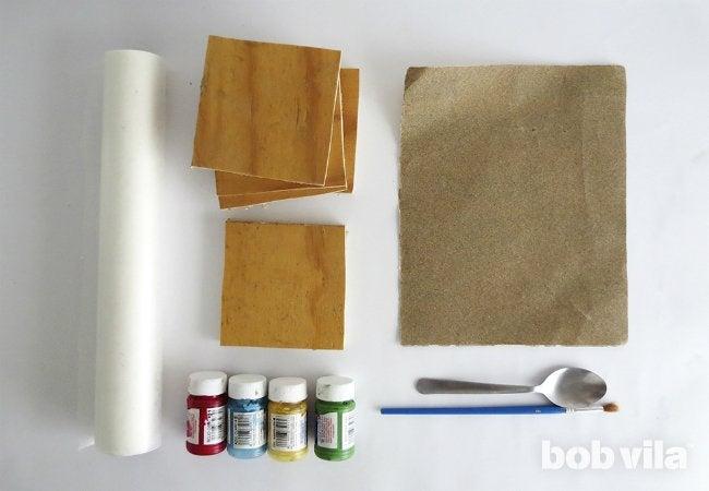 DIY Photo Coasters - Supplies
