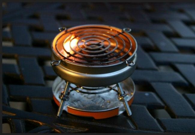 DIY Grill - Use an Altoid Tin