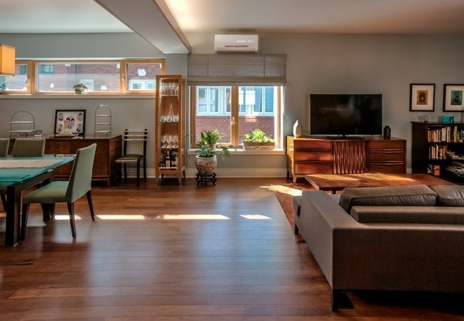 Ductless HVAC Benefits - Open Plan Comfort