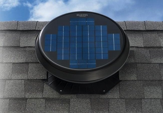 Attic Fans - Roof Mounted