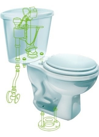 Automatic Toilet Cleaners from Fluidmaster - Flush