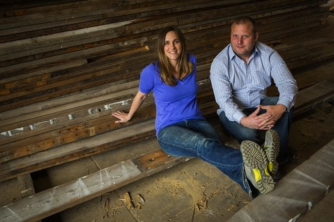 Urban Wood Goods - Erin and Jason