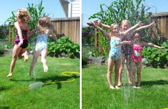 DIY Sprinkler - Backyard Fun