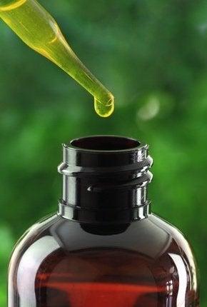 Homemade Mosquito Repellent - Essential Oil Detail