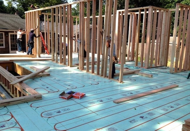 Installing Radiant Heat - New Construction System