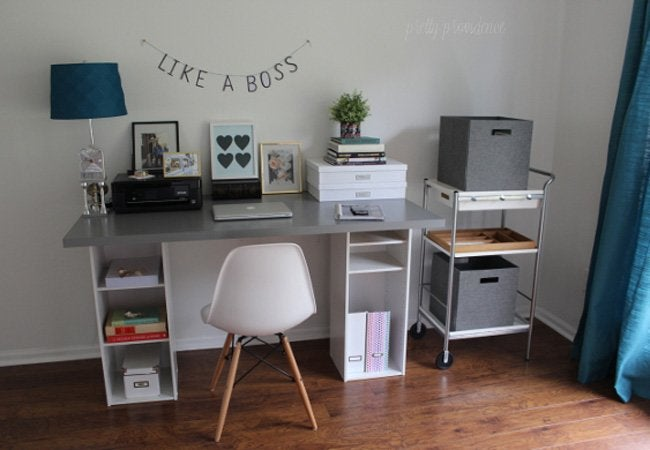 Diy Computer Desk 5 Ways Bob Vila