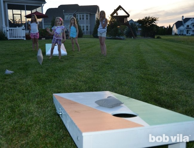 DIY Cornhole - Backyard Game