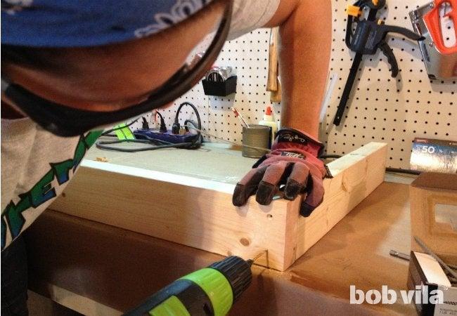 DIY Cornhole - Step 02