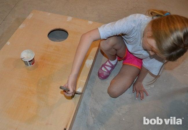 DIY Cornhole - Step 07