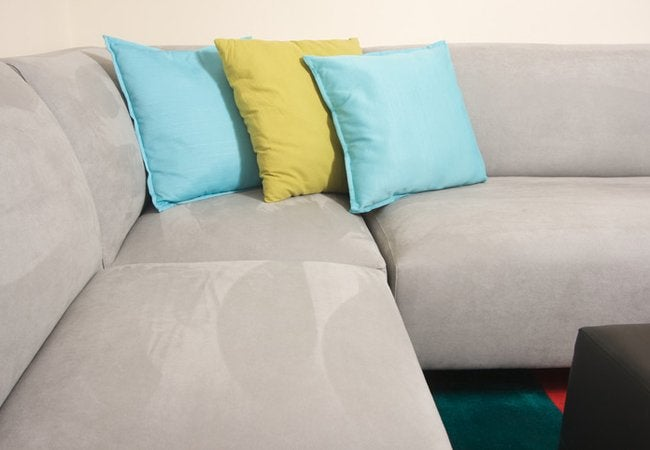 How to Clean a Suede Couch - Microfiber Suede Sofa