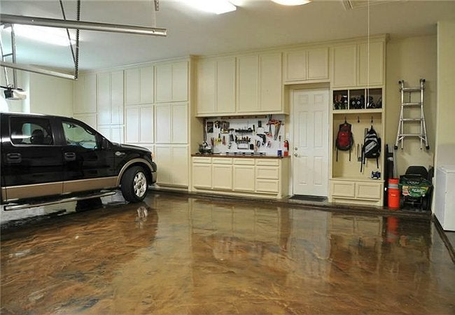 How to paint a garage floor bob vila for Painting garage floor