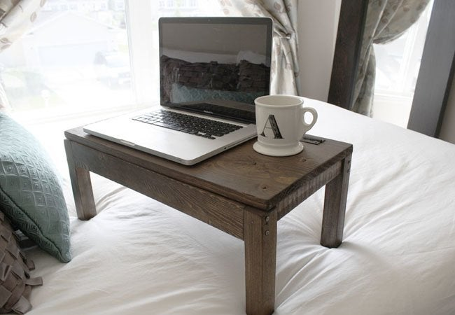 DIY Computer Desk - lapdesk