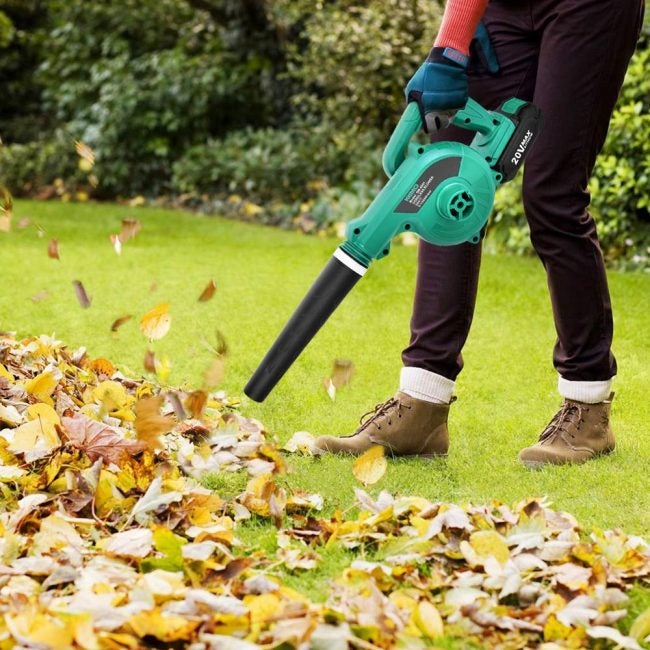 Best Compact Leaf Blower: KIMO