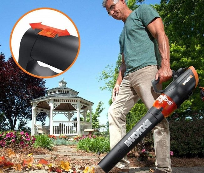 Best Leaf Blower (Corded Electric): WORX
