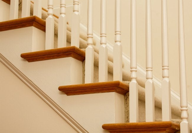 How to Install Carpet on Stairs - Adding a Carpet Runner to Steps