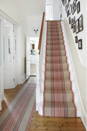 How to Install Carpet on Stairs - Entryway Stair Runner