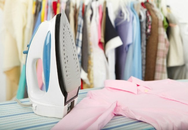 How to Clean the Bottom of an Iron - Ironing Clothes